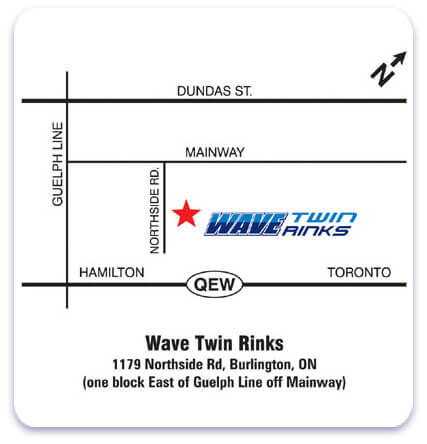 Wave Twin Rinks Map