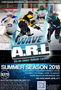 ARL Summer 2018 Flyer